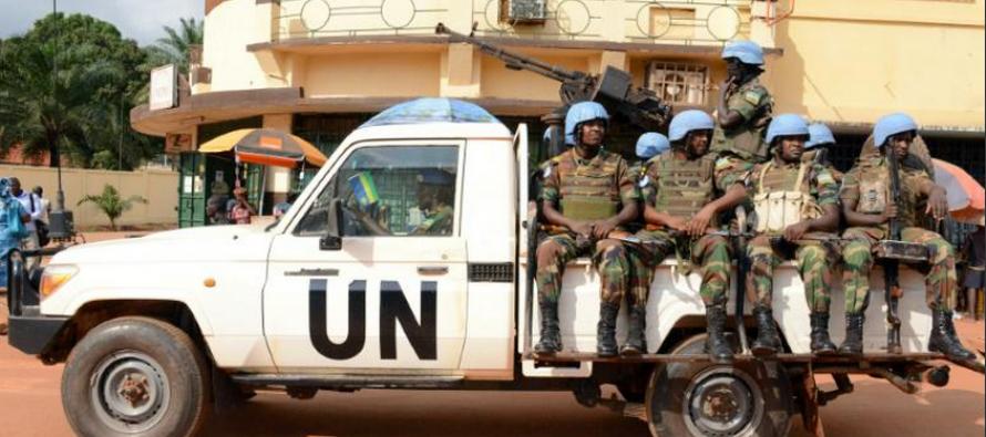 Centrafrique: un Casque bleu rwandais tue 4 compagnons d'armes avant d'être abattu
