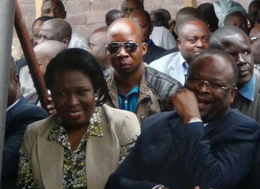 La ministre du Commerce et des Approvisionnements, Claudine Munari, et celui de la Fonction publique et de la réforme de l'Etat, Guy-Brice Parfait Kolélas|DR
