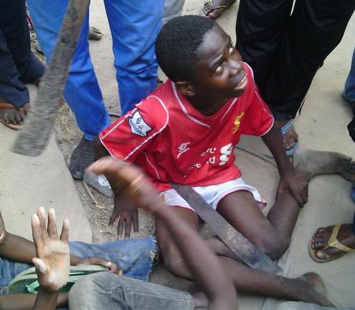 Des Bébés noirs a Brazzaville