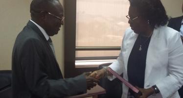 Euloge Landry Kolélas a pris les commandes du ministère du Commerce et des approvisionnements