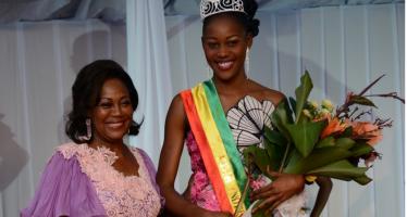 Miss indépendance 2015 : Helderine Ayeni Kosso couronnée reine de la beauté