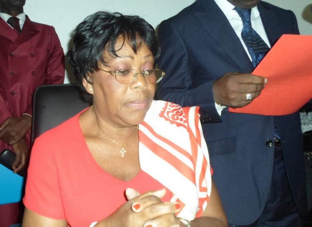 Jeannine Berthe Hortense Djembo nommée à la tête de la SNDE