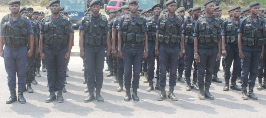 Congo: 4000 policiers spécialement formés pour assurer la sécurité pendant les jeux africains
