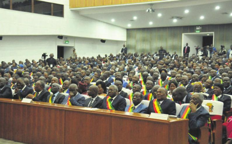 Image d'archive|Les Deputes et Sanateurs Congolais