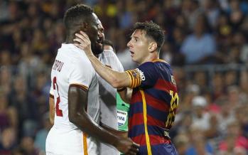 VIDÉO – Le coup de sang de Lionel Messi sur Mapou Yanga-Mbiwa