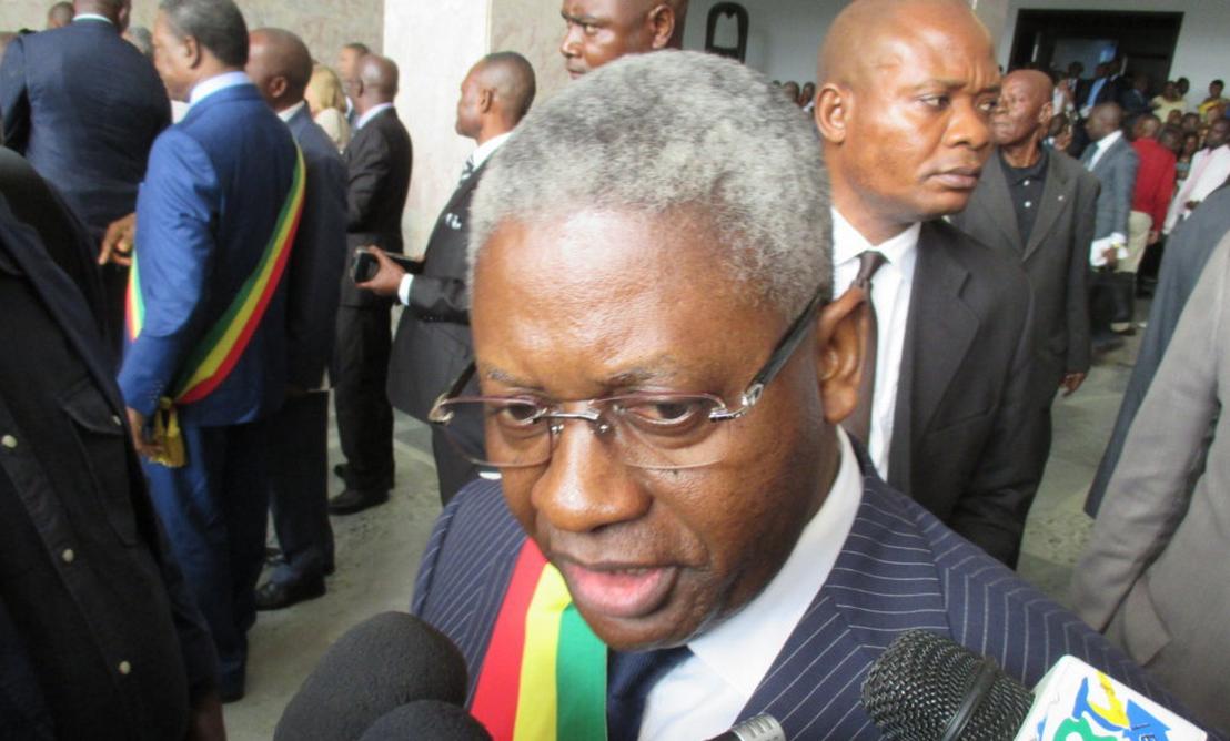Le Premier Secrétaire de l'U.pa.d.s, Pascal Tsaty-Mabiala.