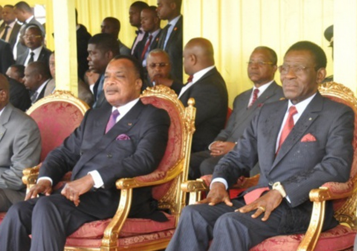 Sassou N'Guesso et Théodoro Obiang Nguema