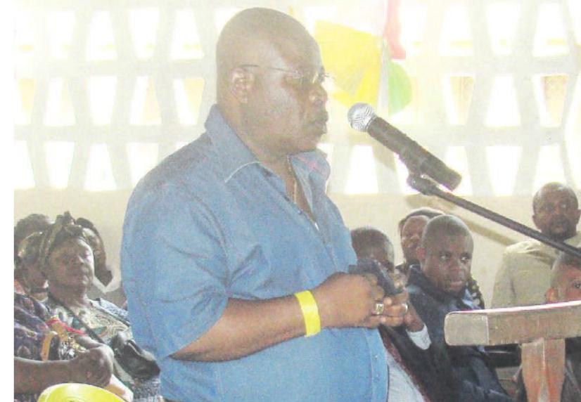 L'ancien maire de Ouesso, Siméon Mobondé