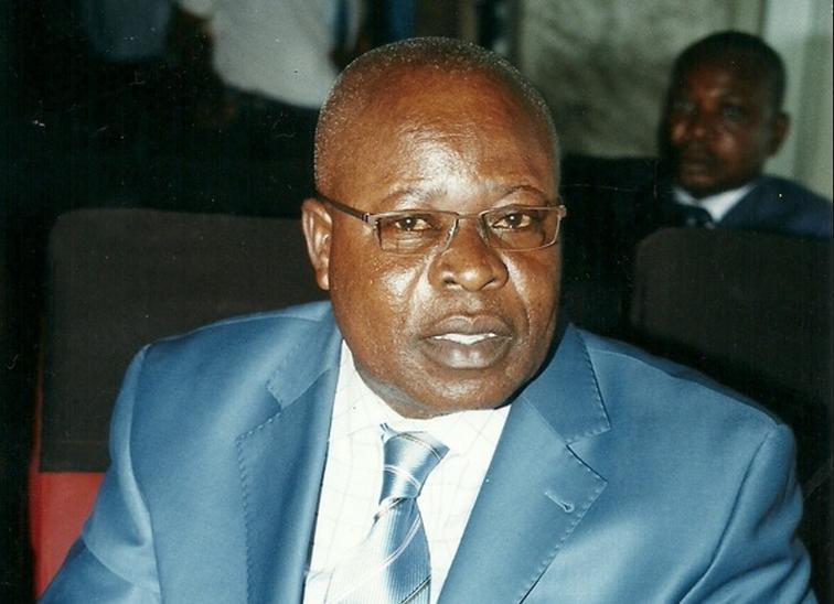 Image d'archive|L'ancien maire de Ouesso, Siméon Mobondé