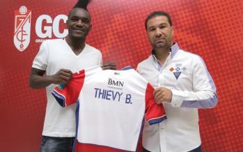 Foot : L'international congolais, Thievy Bifouma a signé en faveur de Grenade