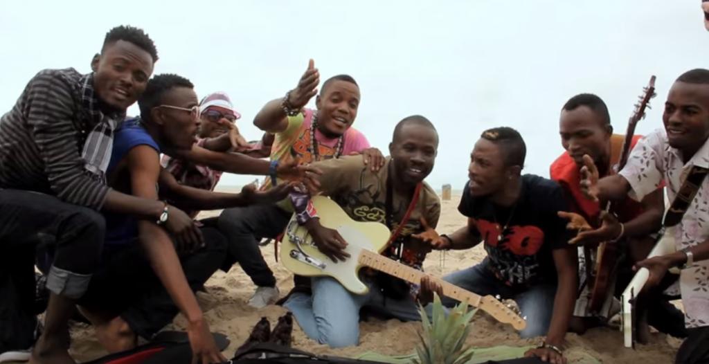 Les membres du groupe congolais Tout Puissant Kimvuka|DR