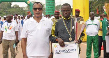 En Images Semi marathon-Ouesso 2015 : le sacre pour la première fois d'un congolais