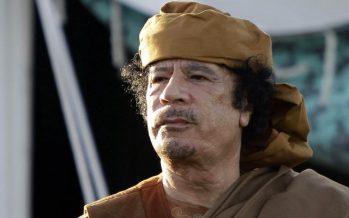 Idriss Déby Itno : « Kadhafi dérange, Kadhafi gène, il fallait le faire taire »
