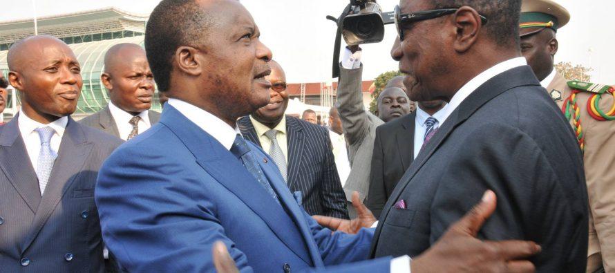 Alpha Condé à Brazzaville pour la clôture des 11emes Jeux Africains