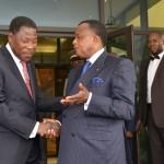 Boni Yayi et Sassou