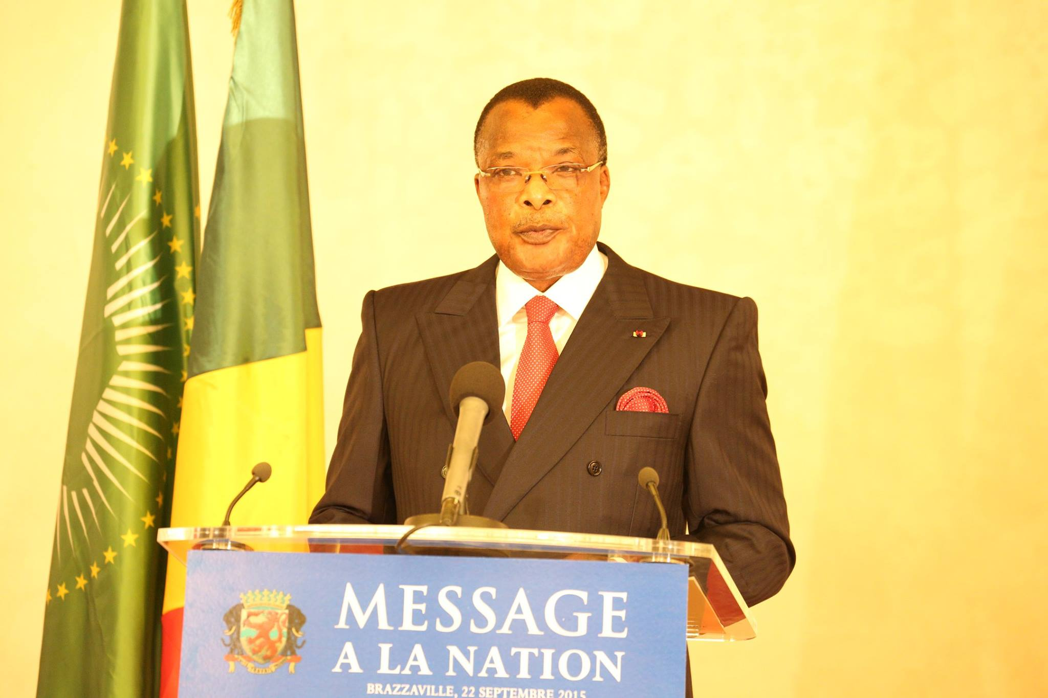 Le Président de la République, Denis Sassou N'Guesso