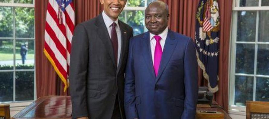 Francois Balumuene, nouvel ambassadeur de RDC aux USA, reçu à la Maison Blanche