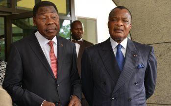 Sassou N'Guesso et Boni Yayi évoquent la crise politique au Burkina Faso