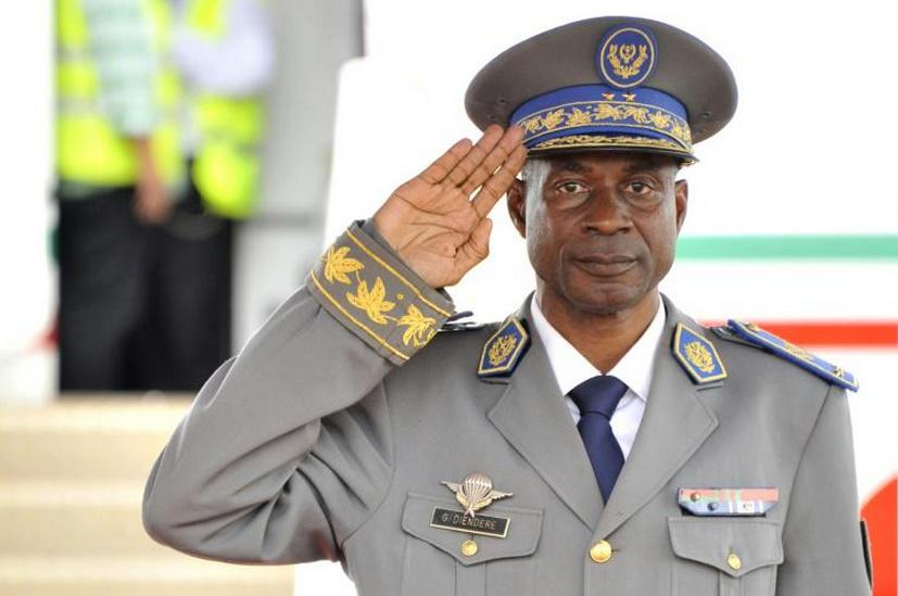 Le Général Gilbert Diendéré, le 18 septembre 2015 à Ouagadougou|AFP