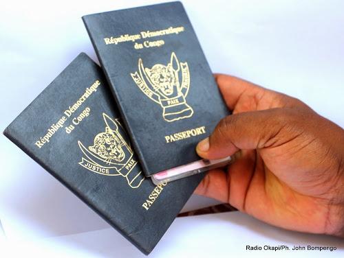 Délétion du passeport de la RDC