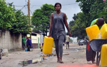Un programme d'eau potable cible 60.000 ménages de Brazzaville