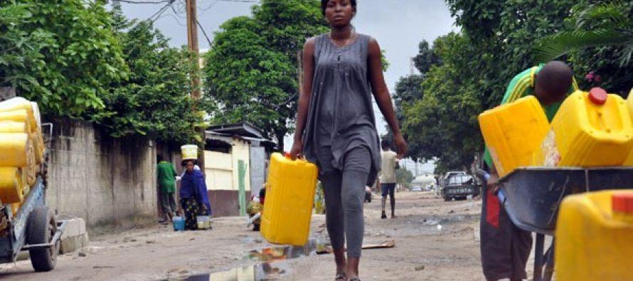 Congo – Pénurie d'eau courante dans les villes congolaises: le phénomène s'aggrave