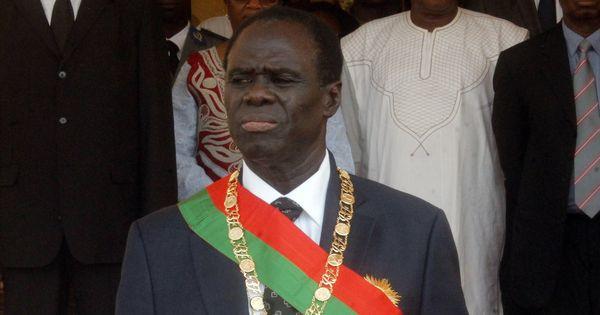 Le président de transition Michel Kafando