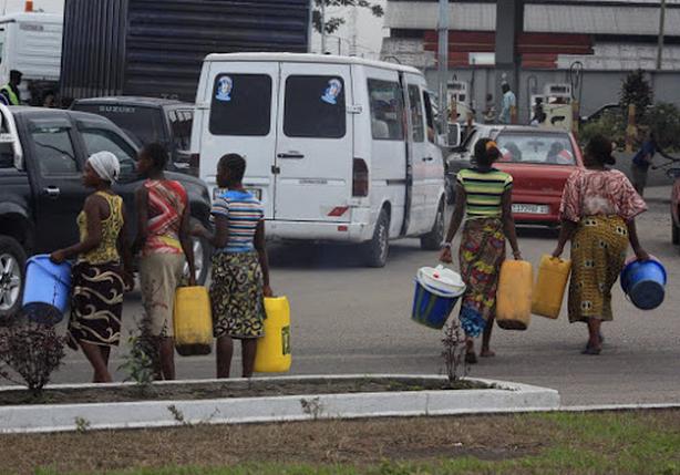 Pénurie d'eau potable à Kinshasa