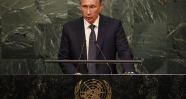 Syrie : Poutine dénonce l'ingérence d' Hollande et Obama