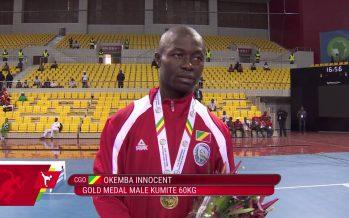 Jeux Africains de Brazzaville : Innocent Okemba offre le premier Or au Congo