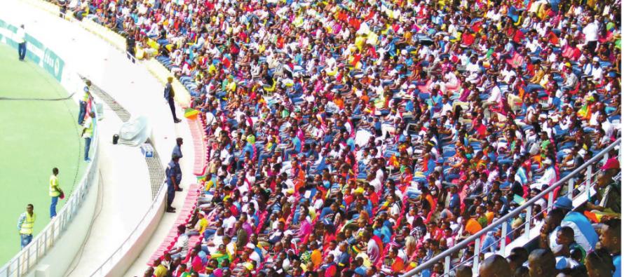 Malgré la défaite le public sportif congolais est sorti du stade de la Concorde satisfait