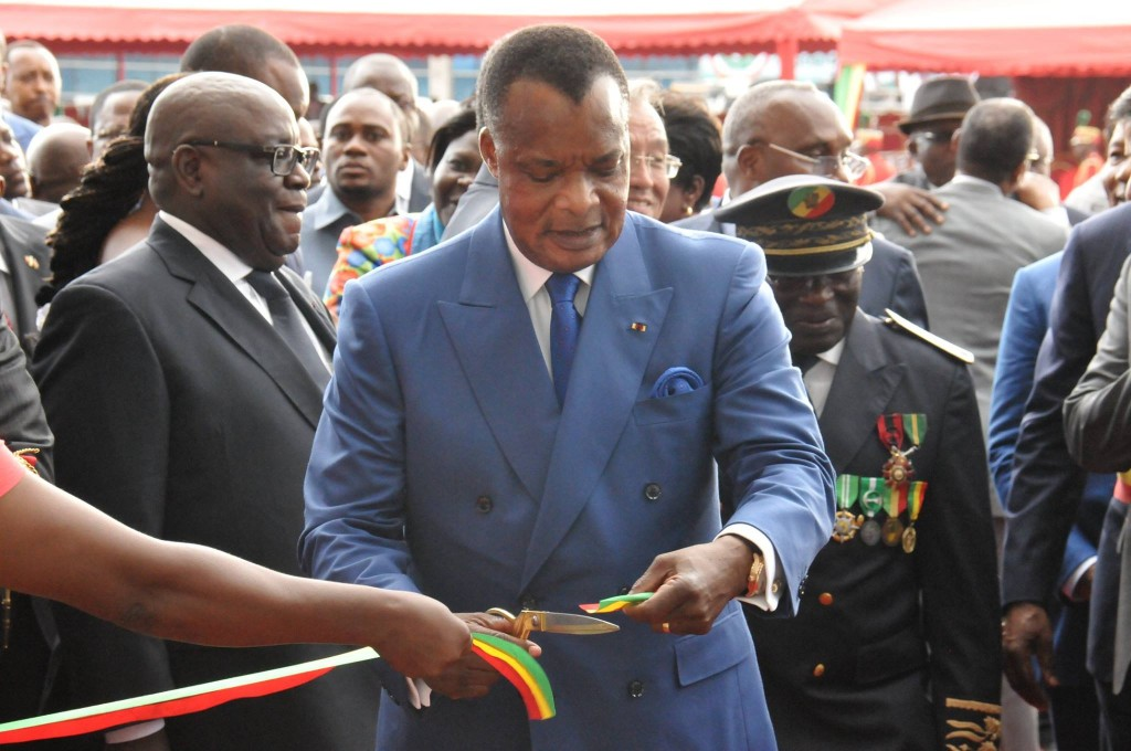 ce 11 octobre 2015 et c'est le président Denis Sassou N'Guesso qui a coupé le ruban symbolique, marquant l'inauguration de ce bâtiment flambant neuf de forme asymétrique, développé sur une longueur de 135 m contre 69 m de largeur.