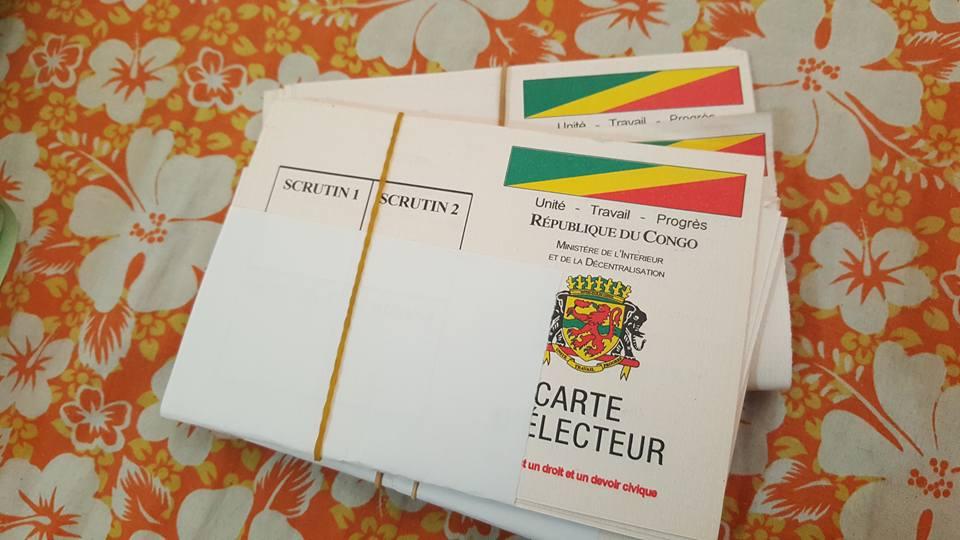 Les cartes d'électeurs
