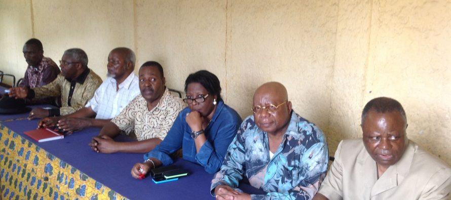 Congo : l'opposition vient de donner une conférence de presse à son siège de Diata