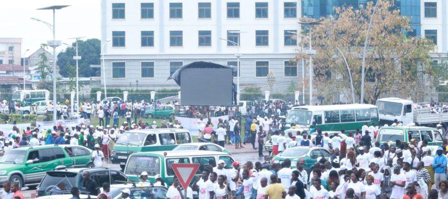 Référendum au Congo: les pro-Sassou en masse dans la rue à Brazzaville