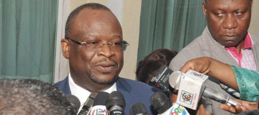 """Congo : """"l'opposition n'abandonne pas le combat"""", selon Parfais Kolelas"""