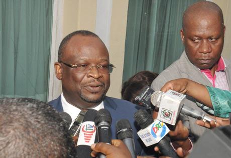 L'ancien ministre congolais, Parfait Kolélas