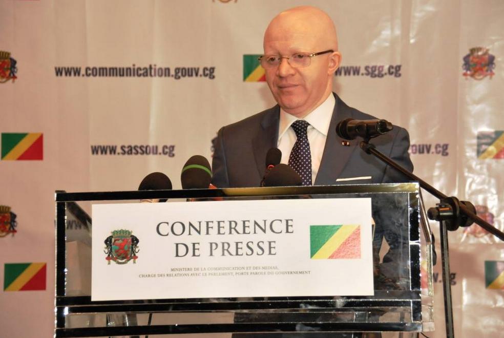 Thierry MOUNGALLA, Ministre de la Communication et des Médias Chargé des Relations avec le Parlement Porte-parole du Gouvernement