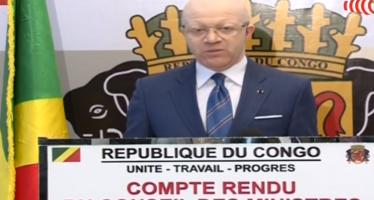 Congo : Compte rendu du conseil des ministres du lundi 05 octobre  2015