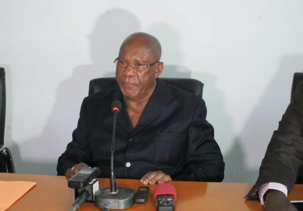 L'ancien président de la république, Jacques Joachim Yhombi Opangault