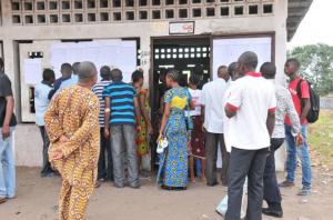 Les Congolais votaient dimanche sur un projet de constitution (Photo 25/10/2015)