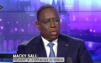 VIDEO – Macky Sall «Qu'ils soient homosexuels, c'est leur problème»