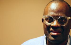 L'écrivain congolais Alain Mabanckou