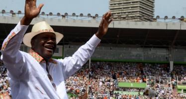 Côte d'Ivoire: sans surprise, Ouattara élu dès le 1er tour avec un score écrasant