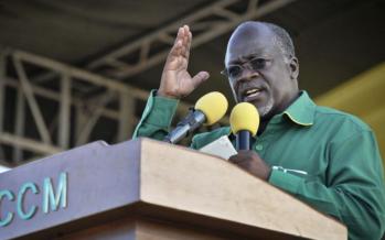 John Magufuli élu président de la Tanzanie