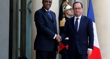 Le Président Idriss Déby à Paris pour régler le dossier centrafricain