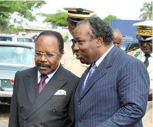 Omar Bongo Ondimba et Ali Bongo