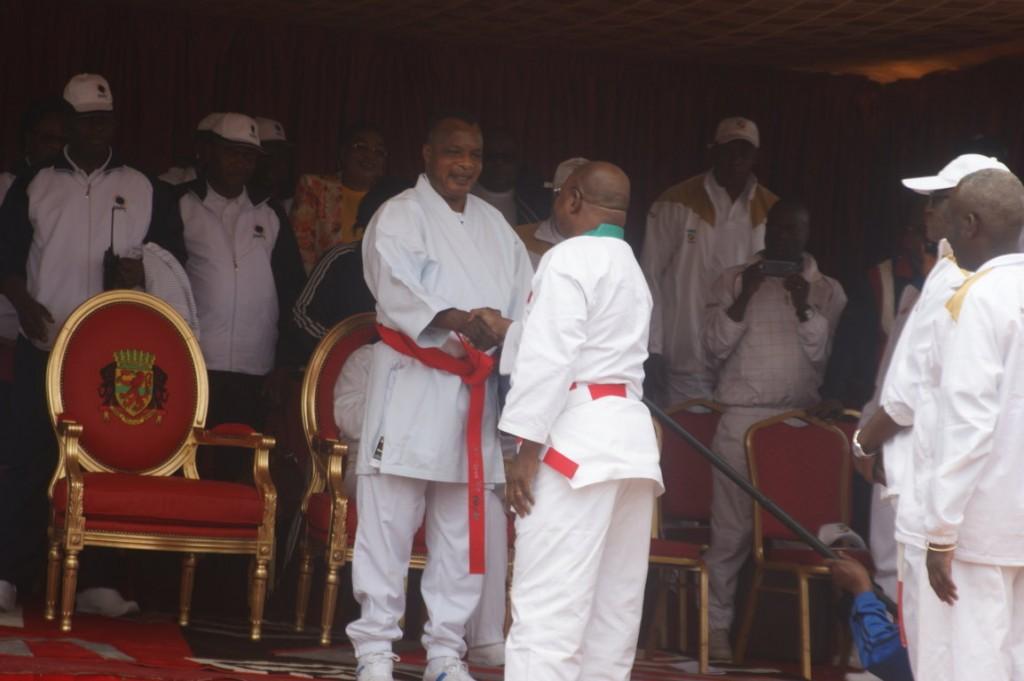 Sassou Ceinture Rouge Karaté