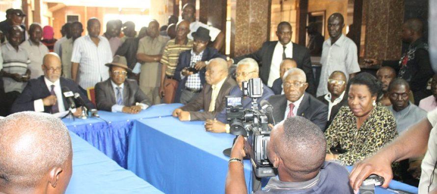 VIDEO – Congo: les plateformes IDC-FROCAD rejettent le référendum