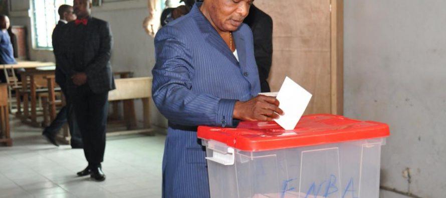 Référendum constitutionnel au Congo: «Seul le peuple souverain décide», déclare Sassou
